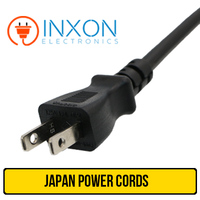 Japan Standard 3 Pin Plug Power Cord For Home Appliance