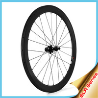 LIGHTCARBON 2015 Carbon Bike Wheel Sets Tubular 50mm with Ceramic Bearing Hubs, Free Shipping!