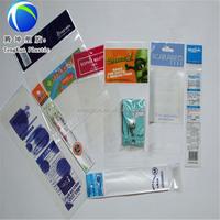 Customize Flexo photo Printing Self Adhesive Plastic Bags