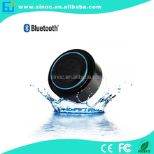 High quality IP67 waterproof dustproof bluetooth Speaker with hands free,suction cup
