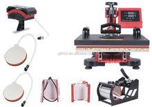 New 7 in 1 Combo t-shirt mug cap heat transfer printing press machine