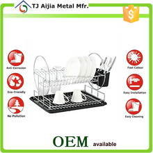 painting Wire Kitchen Storage Rack with eco -friendly tray