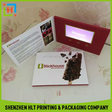Chinese Factory Custom Special Advertising Video Card