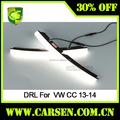Led far volkswagen cc oto aksesuarları 2013-2014 sis farı lambası cc led DRL gündüz farı