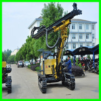down the hole hammer drill rig 25m surface DTH drilling rig