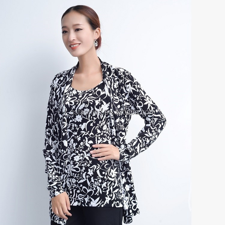Womens Cardigan Sweater,Long Sleeve Sweater for Women Printed Knitted Autumn&Winter Sweater Coat See Details Product - Flower Pattern Open Front Outwear Knitted Cardigans for Women, Round Lightweight Loungewear Sweater Blouse for Ladies, Three Color Printed Fabric Cover-up Kimono Cardigan .