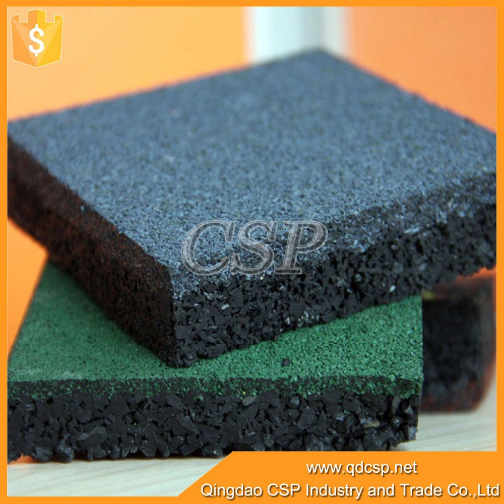 Anti Slip Rubber Restaurant Kitchen Floor Tiles Fitness