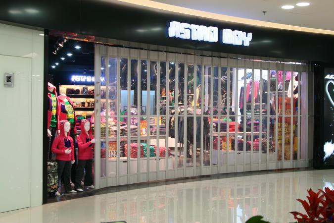 Shop Front Folding Doorscommercial Vertical Sliding Door Airport