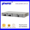 30FXO/FXS Optical Fiber Pcm Multiplexer With Ethernet Dual Power