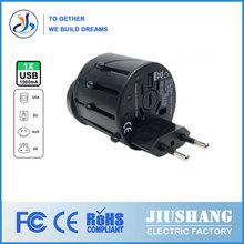 Multifuncional 2014 conector de conversión/global convertidor/de viaje en el extranjero js-a012 zócalo