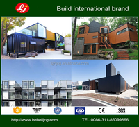 combined Container house Container House log cabin homes