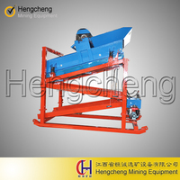 ore washing and concentration vibrating screen mobile Gold Mineral Machinery