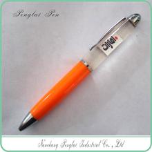 2015 Custom 2D 3D Floater Floating Promotion Gift Liquid Pen