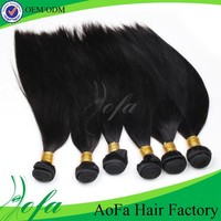 100 grams per bundle natural color 100% straight human hair for braiding