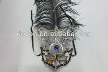 2013 Gorgeous Venetian feather masks masquerade party