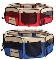 Pet soft crate portable pet dog cat puppy playpen exercise pen tent indoor outdoor crate