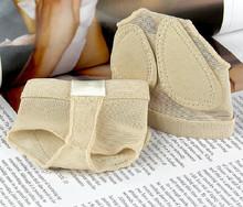 Bx0903 pas cher ventre en cuir chaussures de danse soins des pieds toe protecteur