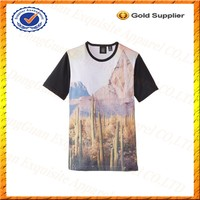 Custom Kids Sublimation T-shirts Polyester T-shirt Kids Models Fancy Kids T-shirt Wholesale