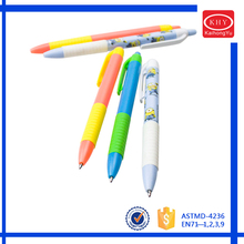 Big discount promotion school kids using plastic pen