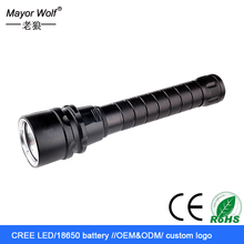 powerful rechargeable cree diving led underwater torch
