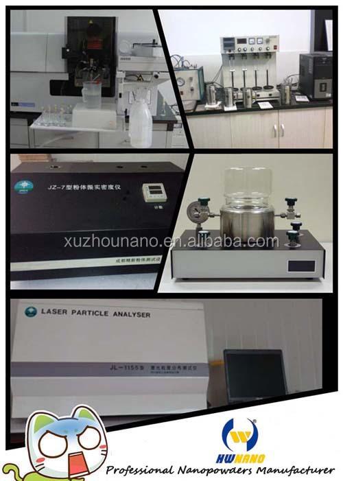Китай поставщиком ультра-тонкий красный пигмент nano Fe2O3 / оксид железа порошки