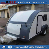 Fiberglass material small off road travel trailer for sale