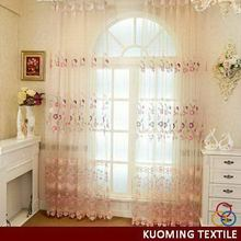 Customized best sell european lace curtains and draperies