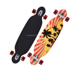 Best Selling 7 Ply North East Chinese Maple Longboard