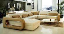 Modern leather sofa furniture