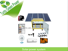 Renewable energy 300W solar power system for home use with Aluminium matierial