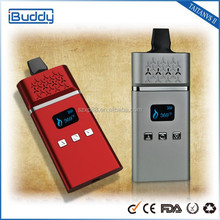 Shenzhen BUDDY Group 2015 New arrival Portable dry herb Vaporizer with Temperature control