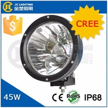 45W Cree LED Driving Light Car Accessories Made in China Factory Directt! High Quality Offroad LED Work Light