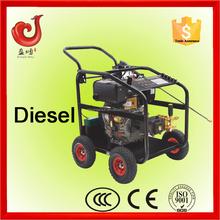 250bar/3600psi 186FE diesel high pressure range, pressure washer and tank