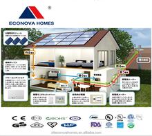 Econova Solar Power prefab houses