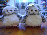 cute plush birds/flying animals/grey owl, Customised toys,CE/EN71/ASTMF963 certificated