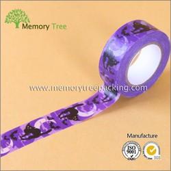 Rubber Adhesive Single Sided tape Adhesive Side washi masking tape