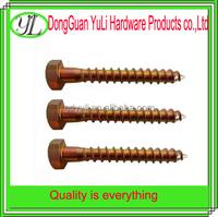 nails supplies hex head copper nails