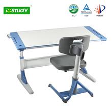 Wood Ergonomic Height Adjustable Kids Study Table/ Study Desk For Children