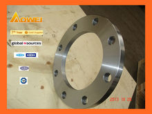 PED certification-Manufacturers selling steel forged ansi 125 flange dimensions from JINAN AOWEI