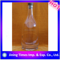 alibaba china high quality screen printing free samples amber vodka bottle sizes prices