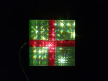 Christmas holiday decoration new led light LED PVC motif light decorative gift boxes