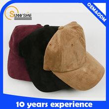 classy baseball cap styling adjustable suede baseball cap unisex