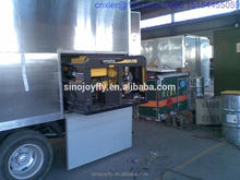 food van for sale with catering function mobile fish and chips service cart