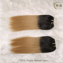Two Tone 26 Inch Indian Remy Hair Extensions