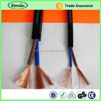 PVC insulated electric wire for corona treater