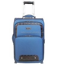2015 hebei Best vintage cheap travel car luggage and bag,two wheels