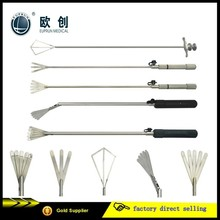 3 finger fan retractor, core pulling fan retractor, fan retractor three blades