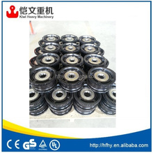 best price bridge crane wheel / crane wheel block for overhead crane 10ton 22.5m