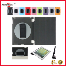 Special design rotating 360 degree handheld case portable arm band case for ipad mini
