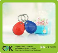Nice printing clear custom Plastic Key fob from Shenzhen maker